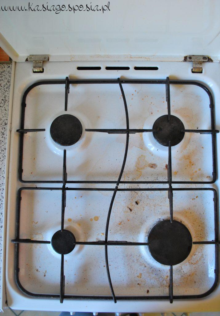 Sposób nawyczyszczenie kuchenki