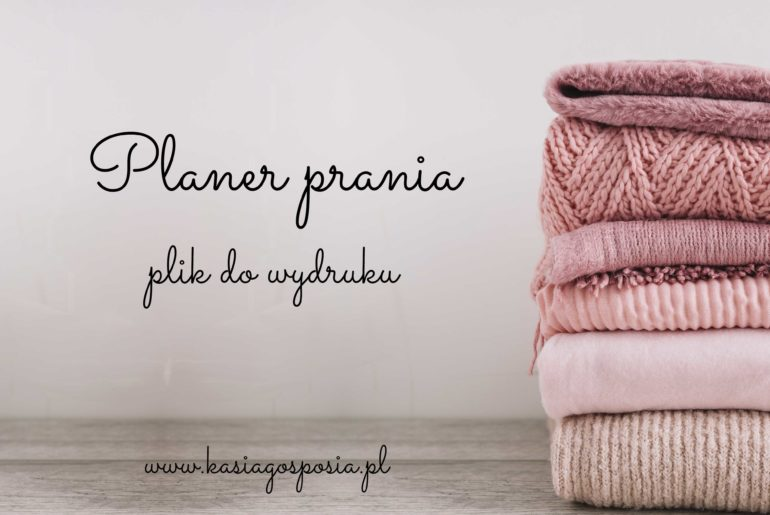 planer prania
