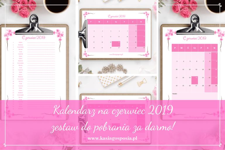 kalendarz naczerwiec 2019