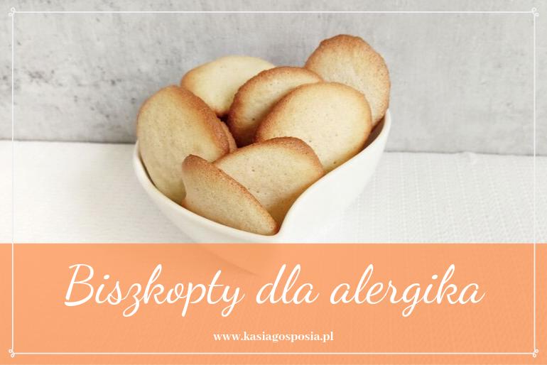 biszkopty dla alergika