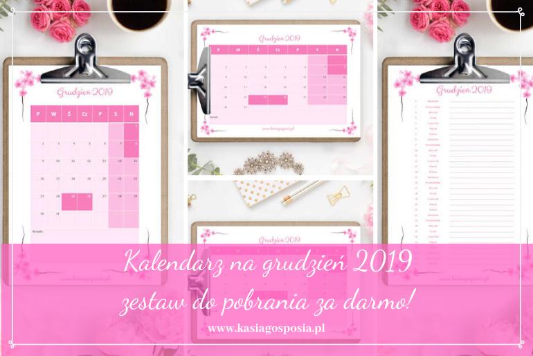 kalendarz nagrudzień 2019