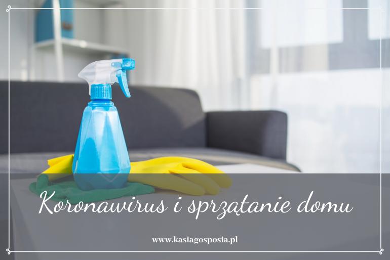 koronawirus isprzątanie domu